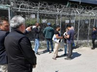 Cardinal visits refugees in Greek camps as political solutions falter