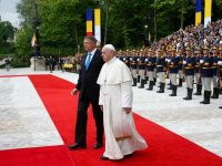 Pope urges Romanian leaders to care for countrys poor, disadvantaged