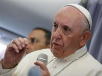Pope says hes strengthened, encouraged by talks with Benedict XVI