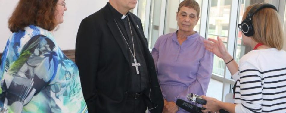 Diocese looks to open temporary shelter for migrants in county facility