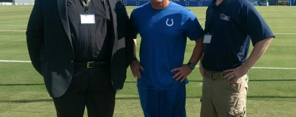 Indianapolis Colts chaplain focuses on players lives and faith