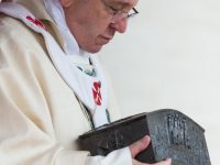 Pope wanted apostles relics united to encourage Christian unity