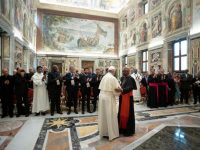 Concern for inmates, prison reform is obligatory act of mercy, pope says