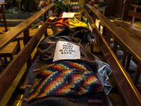 Church becomes improvised morgue as Bolivian violence continues