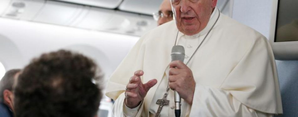 Financial scandal shows Vatican reforms are working, pope tells media