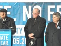 Catholic leaders join New Yorkers in march against hate