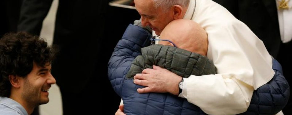 Lifes trials train Christians to be sensitive to others, pope says