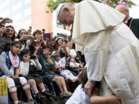 Love is never indifferent to others suffering, pope says