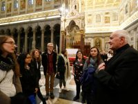 Young adults make deep dive into faith during ad limina visit