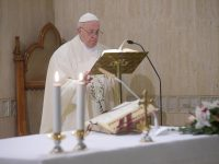 Protect your health, physically and spiritually, pope says