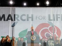 Trump tells March for Life attendees he welcomes their commitment to life