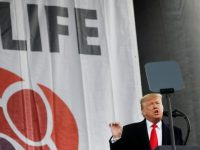 Update: Trump tells March for Life crowd he welcomes their commitment