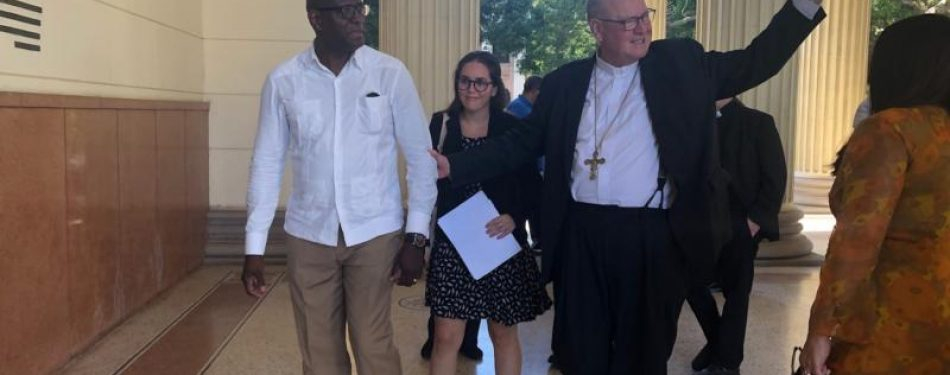Update: Cardinal Dolan meets with Cuban President Diaz-Canel in Havana
