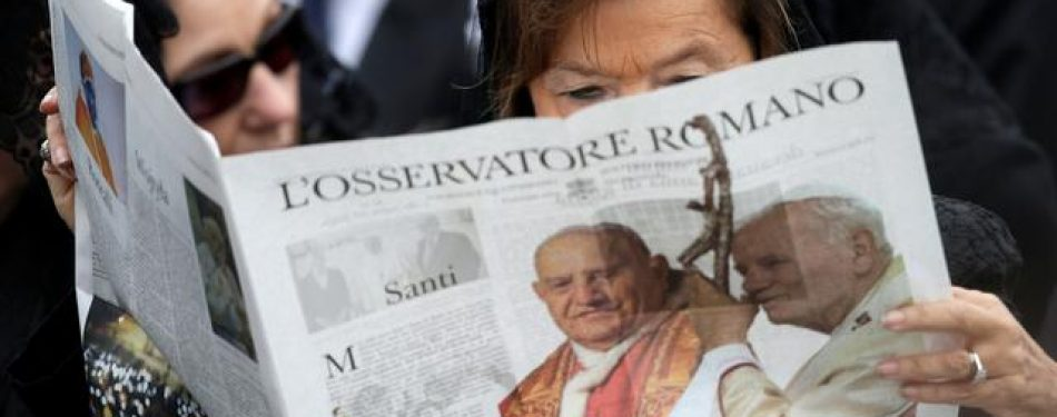 Vatican Newspaper Suspended Due To Covid 19