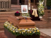 Retired Pope Benedict follows his brothers funeral virtually
