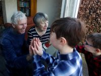 Update: Show grandparents, the elderly that you care, pope tells young people