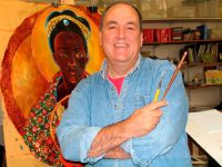 Religious brother uses gifts as liturgical artist to heal wounds of racism
