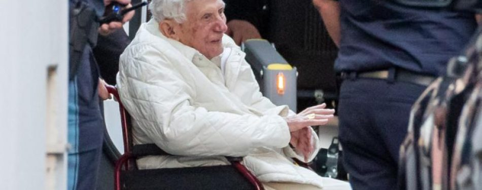 German author says retired Pope Benedict is extremely frail