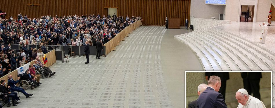 Pope Francis Asks for Forgiveness As He Keeps Distance From Crowd