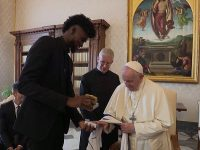 Pope Meets NBA Players At The Vatican