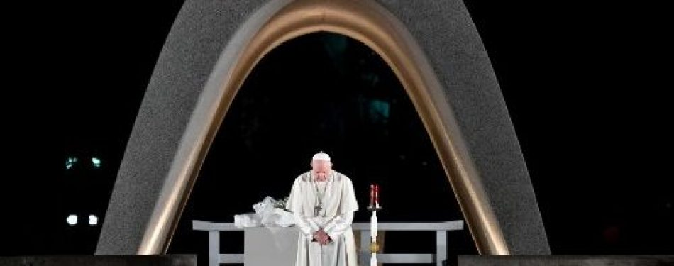 Pope Francis Appeals to world's conscience