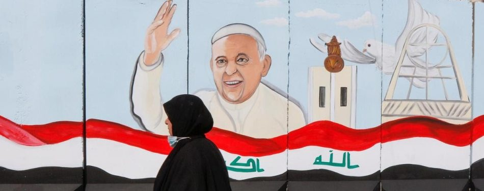 Pope Francis Talks To Authorities And Diplomats In Iraq
