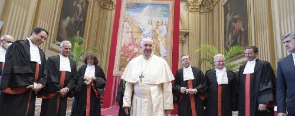 Pope Francis: Look To Heaven For True Justice