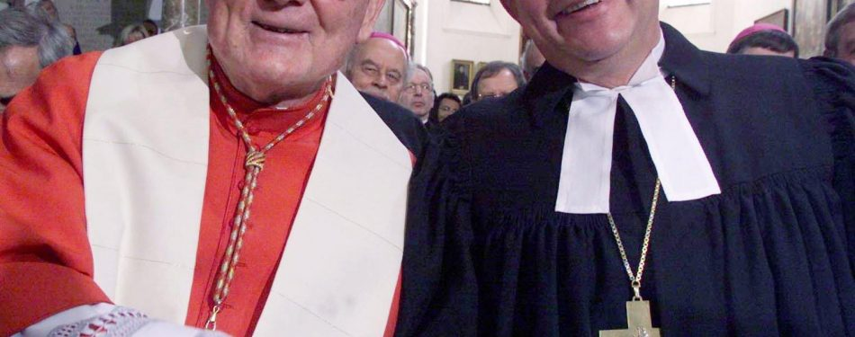 Cardinal Cassidy, Vatican's former top ecumenist, dies at 96
