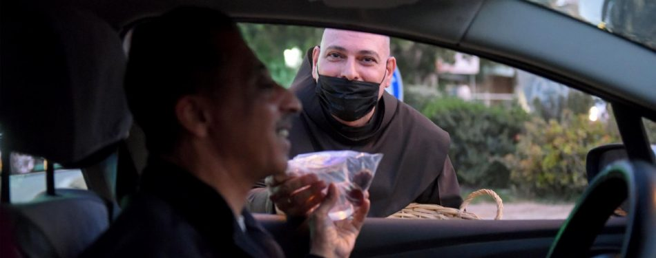 'We are all brothers,' Franciscan in Jericho says of iftar gifts