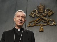 Cardinal Ladaria cautions U.S. bishops on politicians and Communion