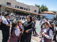 In Gaza, tiny Catholic community tries to stay in touch during airstrikes