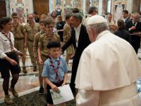 The church and the world need Catholic Scouts, pope says