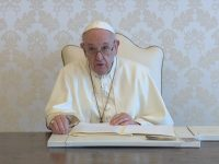 Draw lessons from St. Ignatius' cannonball experience, pope says