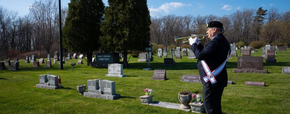 On Memorial Day, trumpeter to mark a year of playing 'Taps' daily