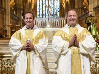 Australian brothers' ordination completes hat trick of religious vocations
