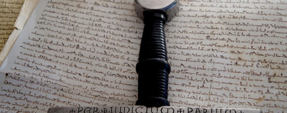 Exhibit on Magna Carta illustrates ties charter of freedoms has to Bible