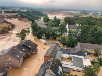 Pope prays for victims of German floods as death toll rises
