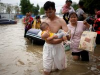 Pope prays for victims, families hit by devastating floods in China