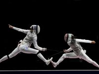 Notre Dame alum is first American to win individual gold medal in fencing