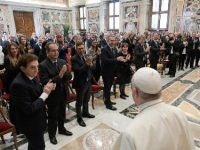 Pope Francis Talks To Pharmacists